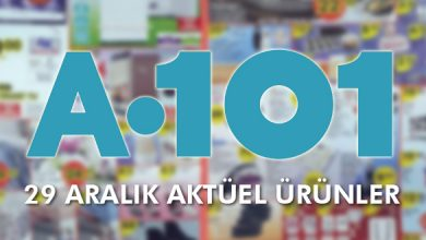 Photo of 29 Aralık A101