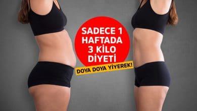 Photo of Doya doya yiyerek 1 haftada 3 kilo nasıl verilir?