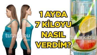 Photo of 1 Ayda 7 Kiloyu Nasıl Verdim? Diyet Listem