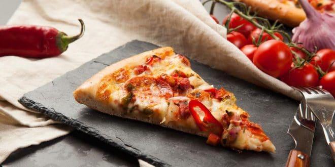resimli tarif: dilim pizza kaç kalori [13]