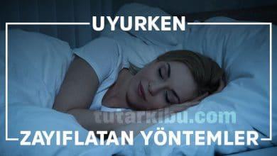 Photo of Uyurken Zayıflatan Yöntemler