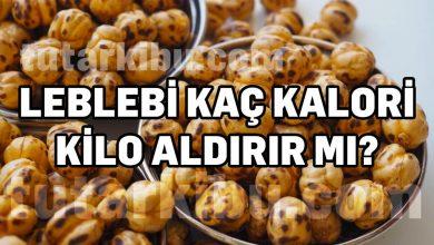 Photo of Leblebi Kaç Kalori, Diyette Kilo Yapar mı?