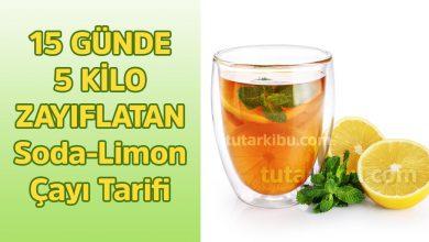 Photo of 15 Günde 5 Kilo Zayıflatan Soda Limon Çayı