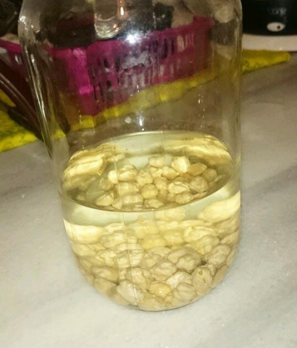 Nohut suyu ile zayıflama