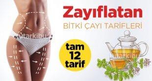 Zayıflatan 12 Bitki Çayı Tarifi