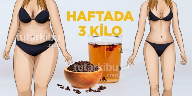 Karanfil Çayı Haftada 3 Kilo Zayıflatıyor