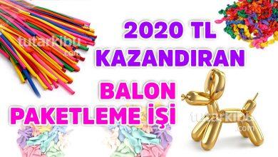 Photo of Evde Balon Paketleyerek 2020 TL Kazanın