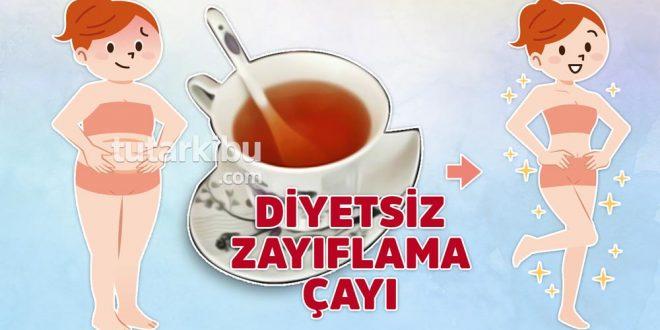 Diyet yapmadan zayıflatan çay