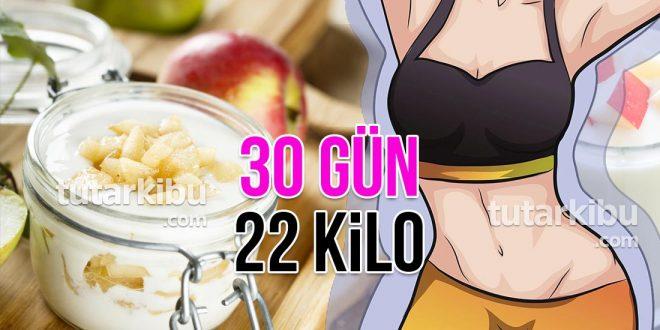 30 Günde 22 Kilo Zayıflama